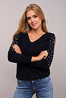 Donna-M свитер Love тёмно-синий