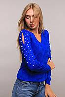 Donna-M свитер Love электрик, фото 1