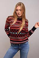 Donna-M свитер Америка красный