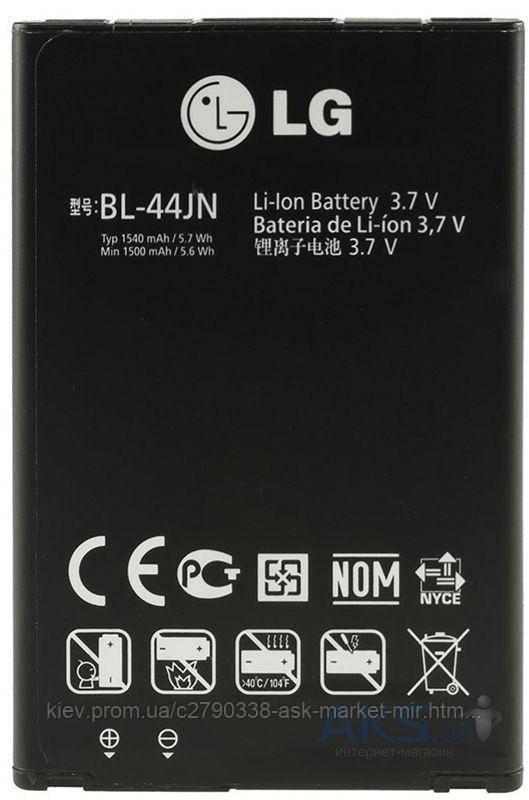 Аккумулятор LG E400 Optimus L3 / 1500 mAh / Оригинал