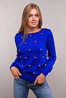 Donna-M свитер Цветы электрик