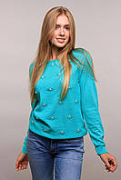 Donna-M свитер Цветы мята