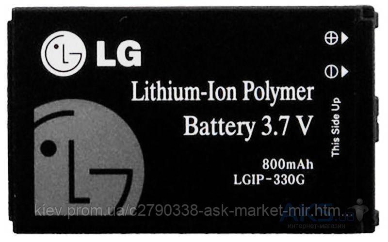 Аккумулятор LG KF240 / LGIP-330G / 800 mAh / Оригинал