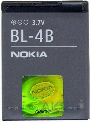 Аккумулятор Nokia BL-4B / 700 mAh / Оригинал, фото 2