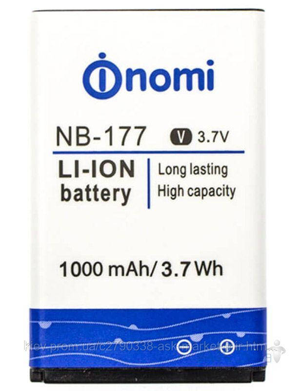 Аккумулятор Nomi i177 / NB-177 / 1000 mAh / Оригинал