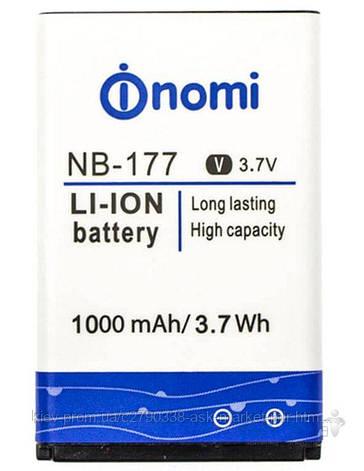 Аккумулятор Nomi i177 / NB-177 / 1000 mAh / Оригинал, фото 2
