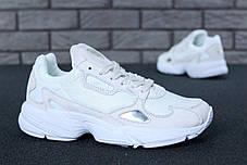 Женские кроссовки Adidas Falcon W White, фото 2