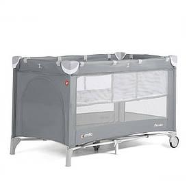 Детский манеж-кровать Carrello Piccolo+ CRL-9201-1 два уровня дна