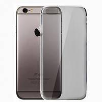 Силиконовый бампер на IPhone 6S (черный) / Чехол для айфона 6 с / на айфон 6 / серый