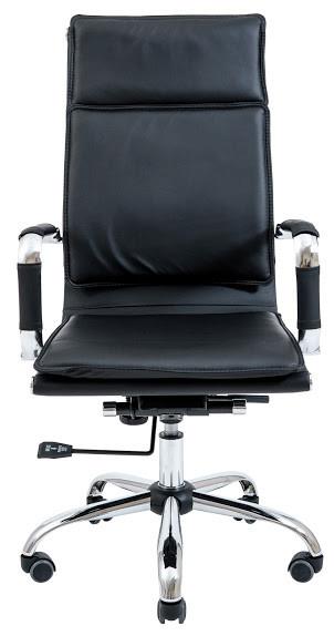Гавайи офисное кресло Richman 118-110х47х49 см черный кожзам