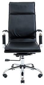 Офісне крісло Richman Гаваї чорний кожзам