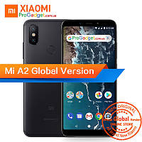 "Xiaomi Mi A2 4/64 black Global Version - черный безрамочный смартфон 5.99"" FHD+, Snapdragon 660 камера 20+12MP, фото 1"