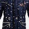 """Зимняя куртка для девочки """"Валерия"""" (синий) 98-116 см, фото 2"""