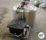 Охладитель молока Б/У ALFA LAVAL на 300 литров открытого типа, фото 3