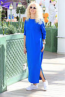 Платье свободного силуэта макси, фото 1