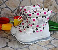 Детские зимние сапожки- дутики Том.м для девочек - в наличии, фото 1