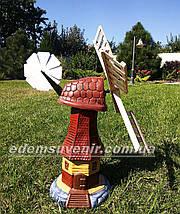 Садовая фигура Мельница малая, фото 2