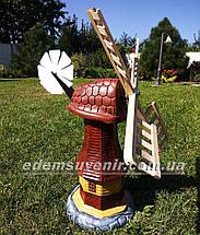 Садовая фигура Мельница малая, фото 3