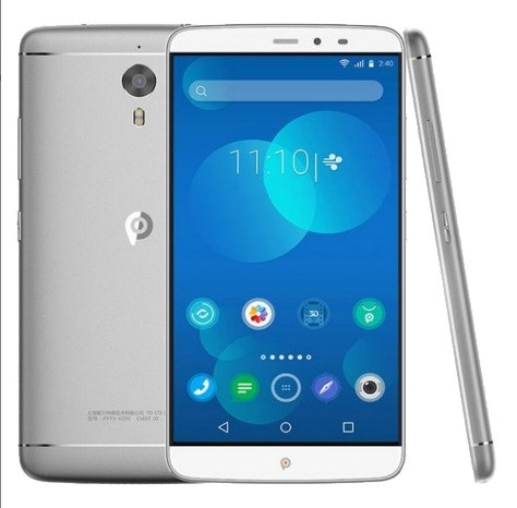 Смартфон PPTV King 7 Silver, экран 6'' IPS, 3/32Gb, 13/8Мп, 2sim, 3610mAh, GPS, 4G, 8 ядер, Android 5.1.
