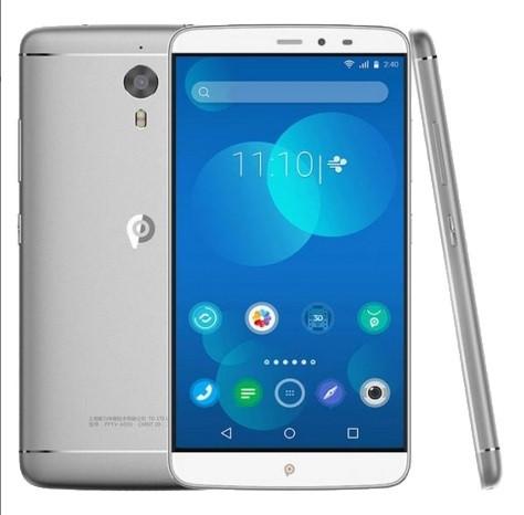 Смартфон PPTV King 7 Silver, экран 6'' IPS, 3/32Gb, 13/8Мп, 2sim, 3610mAh, GPS, 4G, 8 ядер, Android 5.1., фото 1