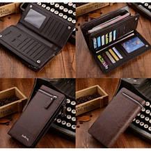 Мужской кошелек-клатч Baellerry Italia black (Waellery), фото 3