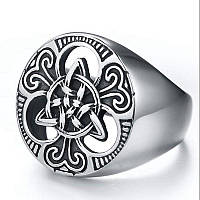 Оригинальное мужское кольцо из нержавеющей стали 22,5-23 размер!, фото 1
