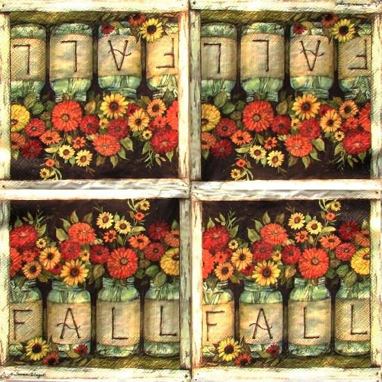 Салфетка Цветы 7742