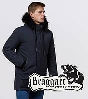 Braggart 'Black Diamond'. Мужская куртка на зиму 9985 графит