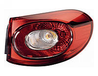Фонарь задний VW Tiguan '07-11 левый (DEPO) внешний 5N0945095D