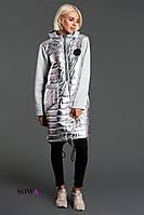Платье  худи на синтепоне  Кармэн, фото 1