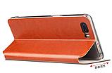 Умный (Smart) чехол-книжка MOFI Rui Series для ZTE Nubia M2  (NX551J) / Розовый / Стекла /, фото 6