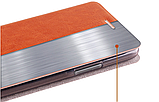 Умный (Smart) чехол-книжка MOFI Rui Series для ZTE Nubia M2  (NX551J) / Розовый / Стекла /, фото 4