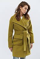 Donna-M Пальто PL-8668-1, (Хаки) Пальто PL-8668-1, фото 1