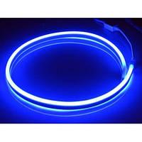 Гибкий неон 220V SMD 2835/60 (IP67) Blue