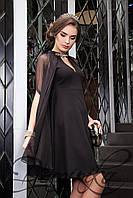 """Donna-M Нарядное платье с накидкой """"Ангелика"""" 11627 A, фото 1"""