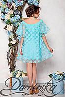 """Donna-M Платье для коктейля из органзы """"DeLakrua"""" 11721 M, фото 1"""
