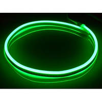 Гибкий неон 220V SMD 2835/60 (IP67) Green