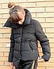 Женская утепленная куртка с декором в расцветках. БР-11-0918, фото 3