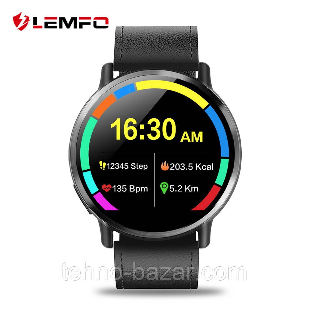 Умные часы Smart Watch Lemfo LEM X 1/16gb Business ip67 4G 900 мАч MT6739
