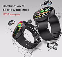 Умные часы Smart Watch Lemfo LEM X 1/16gb Business ip67 4G 900 мАч MT6739, фото 2