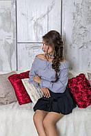 """Donna-M Блуза с открытыми плечами и чокером """"Style"""" 21805 P, фото 1"""