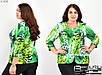 Блуза-кофта женская большого размера Фабрика моды батал р. 50-60, фото 2