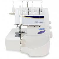 Juki MO–1000 Полупромышленный оверлокс полностью автоматизированной системой нитевдевания