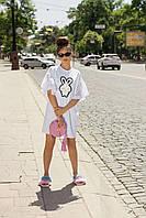 "Donna-M Платье-футболка ""Rabbit"" 11822 W, фото 1"