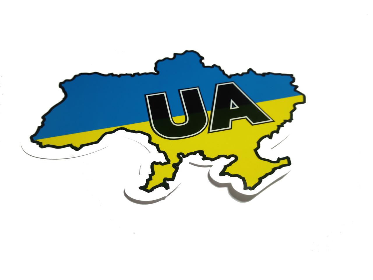 """Наклейка """"UA-карта"""""""