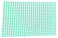 Сетка декоративная Клевер - 1,0 x 20м (10 x 10мм) зеленая