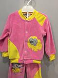 Велюровый костюм с мышкой для девочки, фото 3