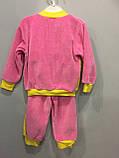 Велюровый костюм с мышкой для девочки, фото 5