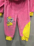 Велюровый костюм с мышкой для девочки, фото 4