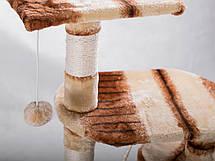 """Когтеточка """"Игровая площадка"""" кремово-коричневый Pethaus, 40x40x105 см, фото 2"""